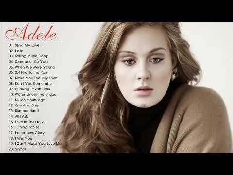 Adele Grandes Exitos 2018 - Adele Sus Mejores Canciones - Adele Mix