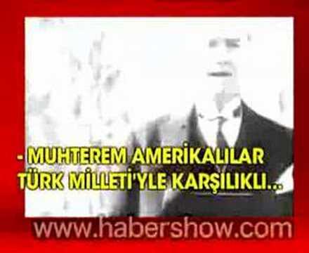 Atatürk Amerikalı Büyükelçi'ye ders verdi!..
