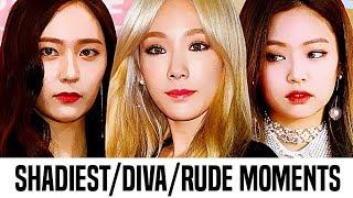 Kpop Female Idols Shadiest/Diva/Rude Moments | Part 1
