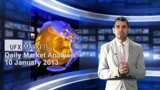 تحاليل وتوصيات فوركس UFX Markets 10-01-2013