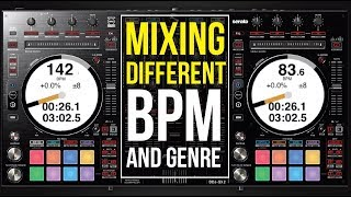 MIXING DIFFERENT BPM AND GENRE - 5 TOP BPM TRANSITIONS