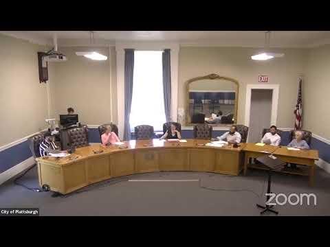Plattsburgh City Operations Committee Meeting  8-9-21