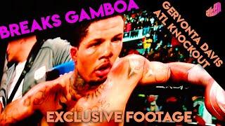 Gervonta Davis vs Gamboa (Exclusive Fight Highlights)