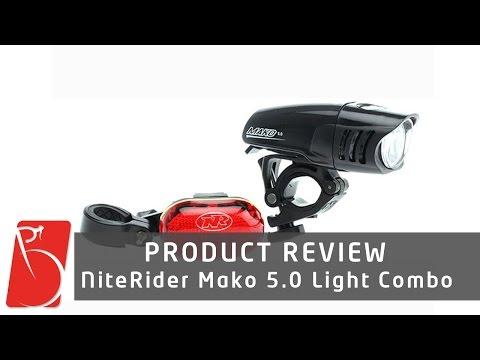 NiteRider Mako 5.0 Headlight/Taillight Combo