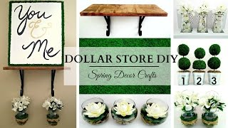 Dollar Store DIY's ~ EARTH TONE Spring Home Decor Crafts