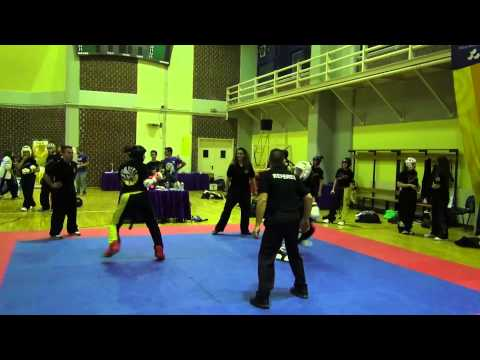 22nd Fu Jow Pai Interschools Tournament - Day 2 - Point Fighting