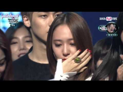 [ENG SUB] 151105 f(x) 4 Walls Win on M Countdown