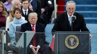Schumer weighs in on inauguration boos