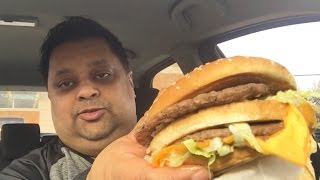 Eating McDonalds Grand Mac & Review  | Eating Show