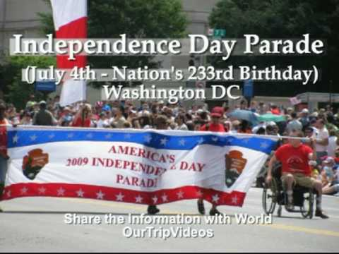 Pictures of Independence Day Parade - July 4th, Washington DC, US