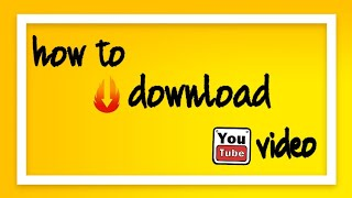 how to download youtube video and save in galary(TAMIL)
