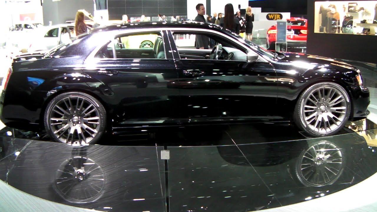 2013 chrysler 300c john varvatos limited edition new autos post. Black Bedroom Furniture Sets. Home Design Ideas