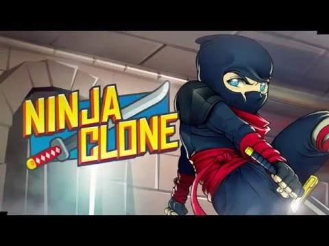 Ninja Clone - A new, fast-paced running game [Short Trailer Gameplay]