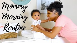 MOMMY MORNING ROUTINE WITH A NEWBORN!