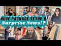We Opened Huge Package & Tried to Setup!?|A Surprise News for Everyone?|Grocery Shopping,Fun Talks||