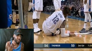 Steven Adams is the Toughest Player in the NBA