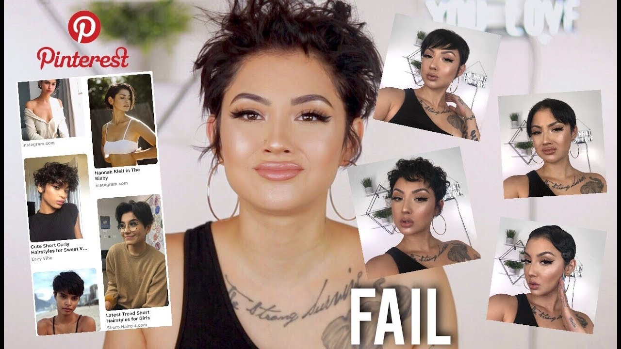 How To Style Very Short Hair Html