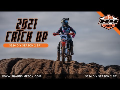 2021 CATCH UP WITH SHAUN SIMPSON - SS24 DIY S2 EP1
