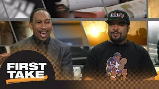 Stephen A. Smith asks Ice Cube if Lakers are worthy of LeBron James   First Take   ESPN