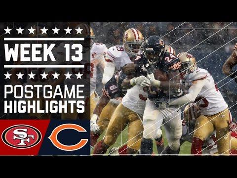 Chicago Bears vs San Francisco 49ers