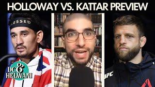 DC & Helwani preview Max Holloway vs. Calvin Kattar | ESPN MMA