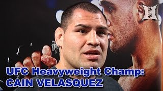 UFC Heavyweight Champ Cain Velasquez Gives Us An Update