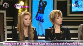 [111215] SNSD at the Beatles Code Part 2 of 4 [Eng Sub]