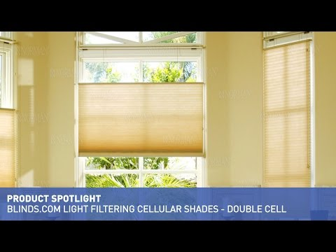 Blinds.com Light Filtering Cellular Shades - Double Cell