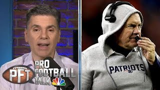 Bill Belichick says college passing different from NFL | Pro Football Talk | NBC Sports