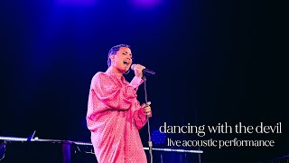 Demi Lovato - Dancing With The Devil (Live Acoustic Performance)