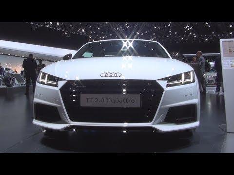 @Audi #TT Coupé Version S Line 2.0 TFSI (2017) Exterior and Interior in 3D