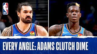 Steven Adams With The Game Tying DIME!