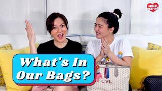 What's In Our Bags? Part 1   Carmina Villarroel Vlogs