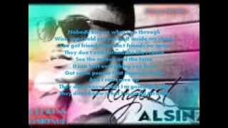 August Alsina-Nobody knows Lyrics