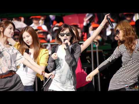 2011/05/14 평창 동계올림픽 유치기원 소녀시대 - Hoot 리허설 직캠 by DaftTaengk