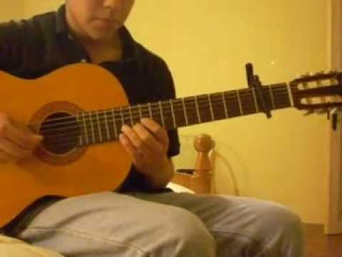 Quien es la que viene alli, Los tres - cover guitarra
