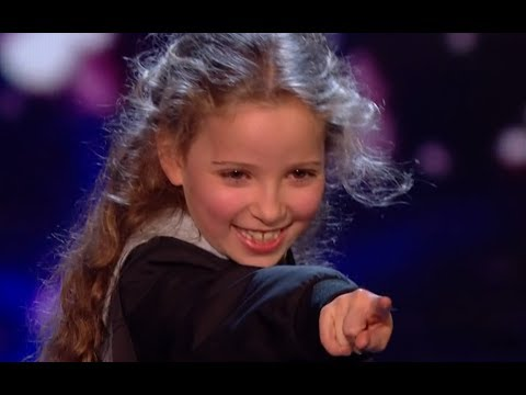Little Magician Issy Blows Everyone Away With Her AMAZING Tricks   Semi Final 2   BGT 2017