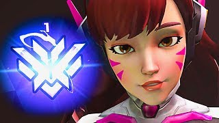 This Is What The Rank 1 KOREA Player Looks Like!! - Overwatch Montage