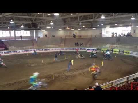 Fletcher Indoor Race 1/31/15 Pro Practice Group A