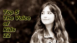 Top 5 - The Voice of Kids 22