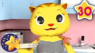 Learn How To Count 3 Little Kittens | Fun Learning with LittleBabyBum | NurseryRhymes for Kids