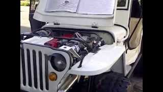 willys jeep indonesia 2JZ turbo charger