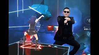 [Beat Saber] PSY - GANGNAM STYLE (EXPERT)