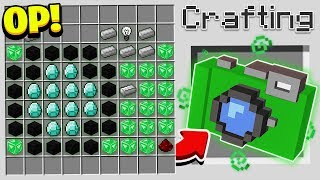HOW TO CRAFT A $1,000,000 MOVIE! *OVERPOWERED* (Minecraft 1.13 Crafting Recipe)