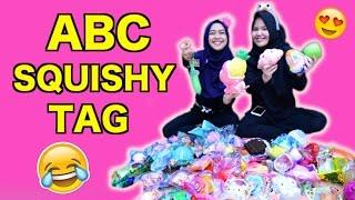 ABC SQUISHY TAG - RIA RICIS ft. CANTIKA PUTRI - bongkar squishy ricis