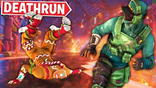Racing LazarBeam in LAVA Deathrun!