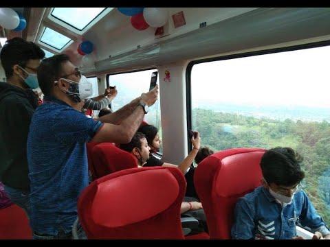 Enjoy scenic beauty of Western Ghats through Vistadome coach