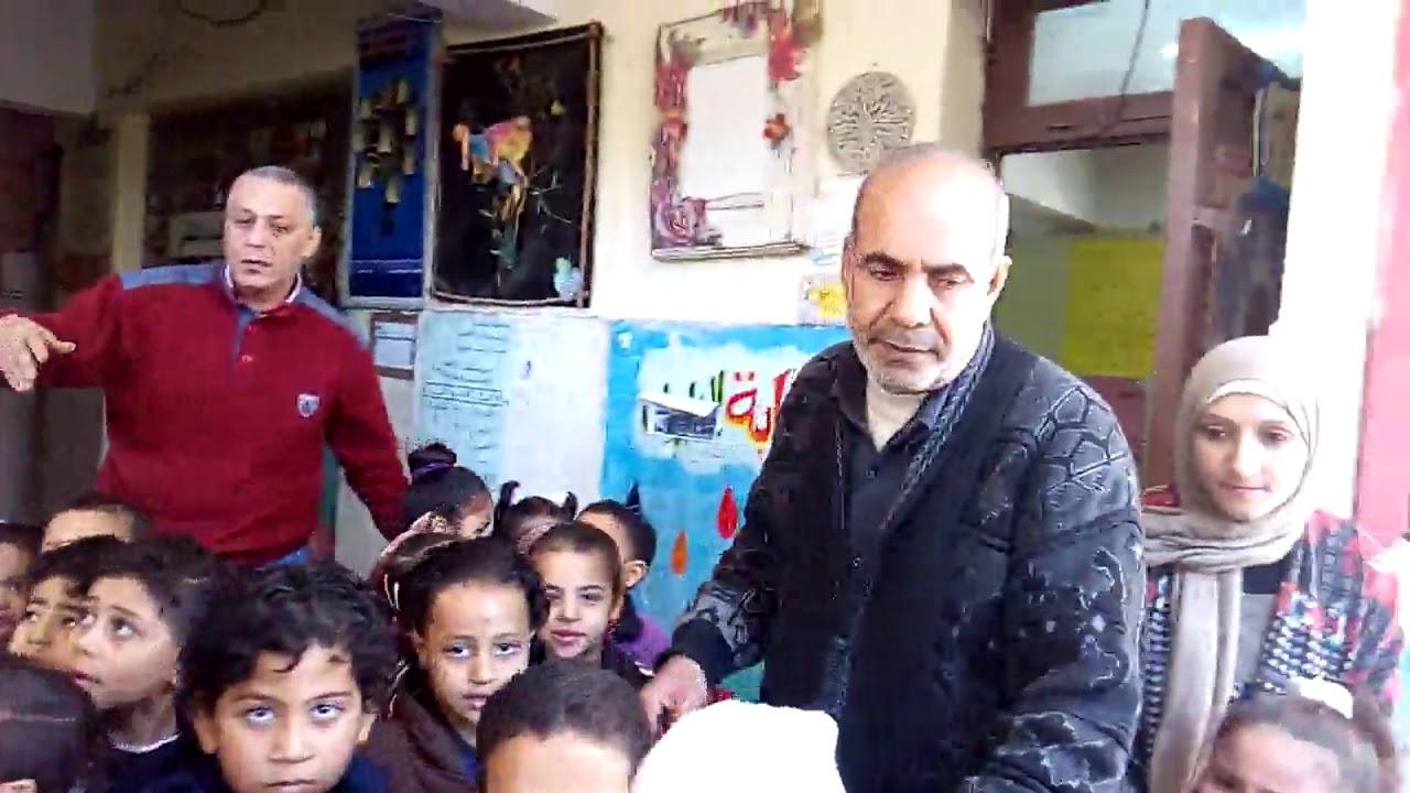 تجربة اخلاء مدرسة متولى الشعراوى بإدارة مصر القديمة التعليمية