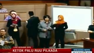 FULL VIDEO Kericuhan Sidang Paripurna RUU PILKADA