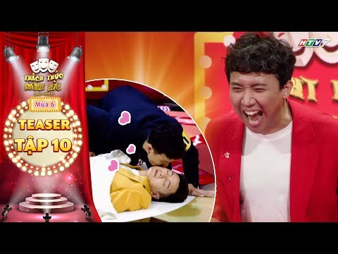 Thách thức danh hài 6|Teaser tập 10: Trấn Thành phấn khích tột độ khi Bắp MC bị thí sinh hôn tới tấp
